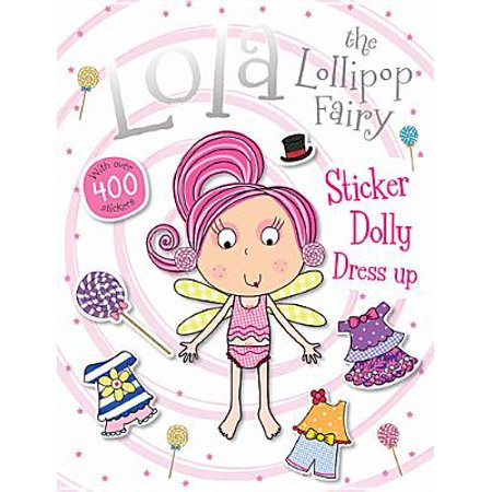 Lola the Lollipop Fairy Sticker Dolly Dress Up](Toga Dress Ideas)