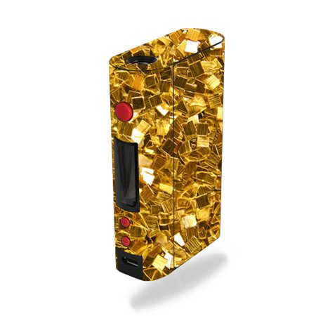 Skin Decal Wrap for Kanger KBOX 200W sticker Gold