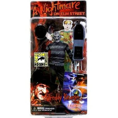 Freddy Krueger Action Figure Dream Child Black & White - Freddy Krueger Child