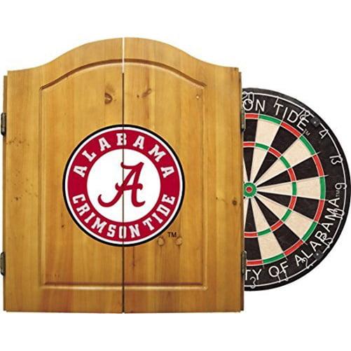 Imperial International NCAA Dart Cabinet, University of Alabama Crimson Tide by Generic