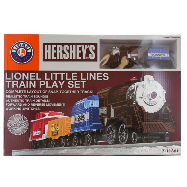 Lionel Little Lines Hershey's Train Set