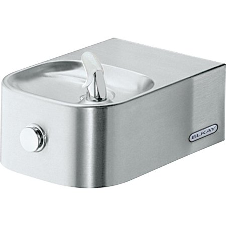 Elkay Soft Sides Single Fountain Non-Filtered Non-Refrigerated, Stainless Stainless Steel
