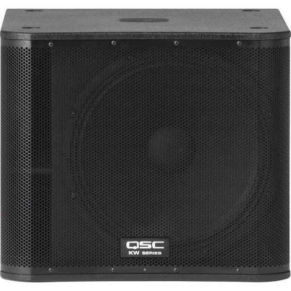 "QSC LLC. KW181 18"" PORTED, 1000W SUBWOOFER W  INTERGRATED CASTORS KW181 by QSC Audio"