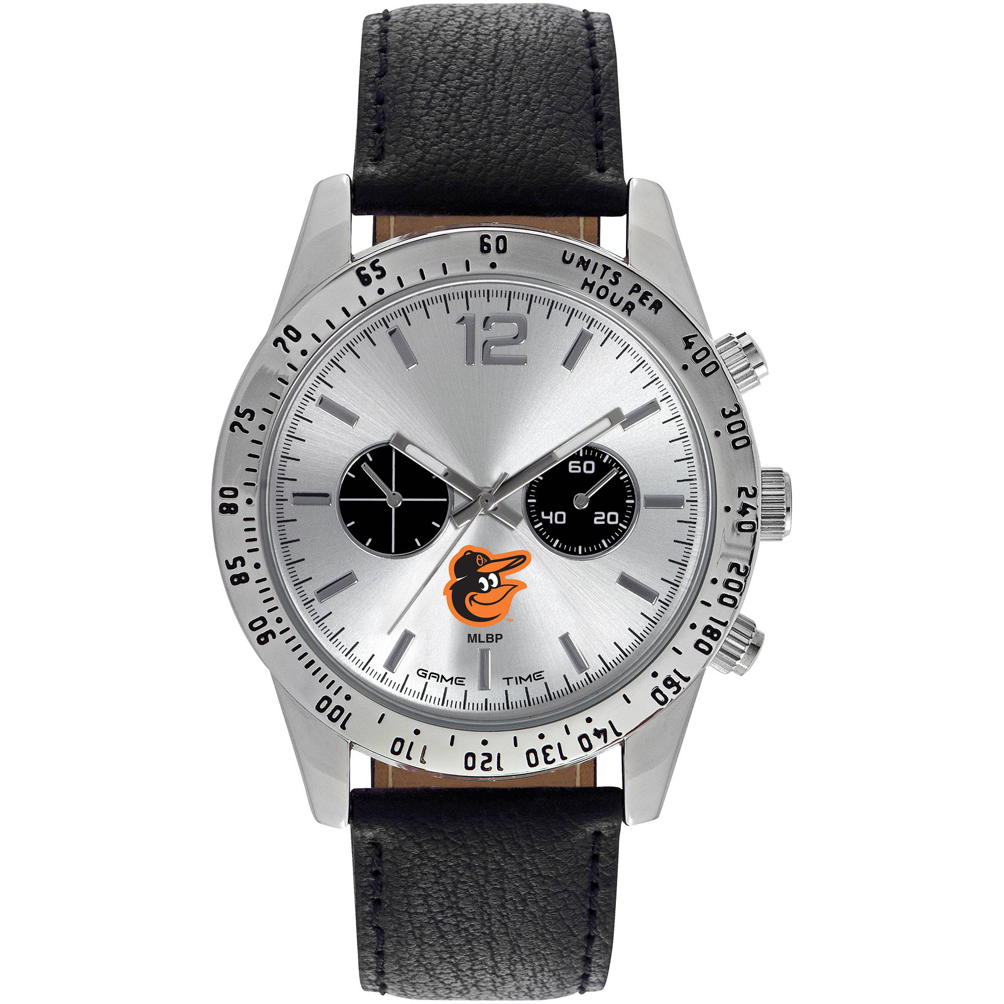Game Time MLB Men's Baltimore Orioles Letterman Series Watch