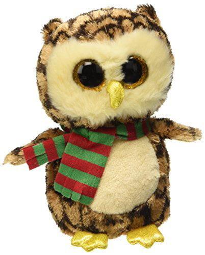 Ty Beanie Boo Wise the Owl - 6 inch by, Ty Beanie Boo Wise the Owl - 6 inch By Ty Beanies