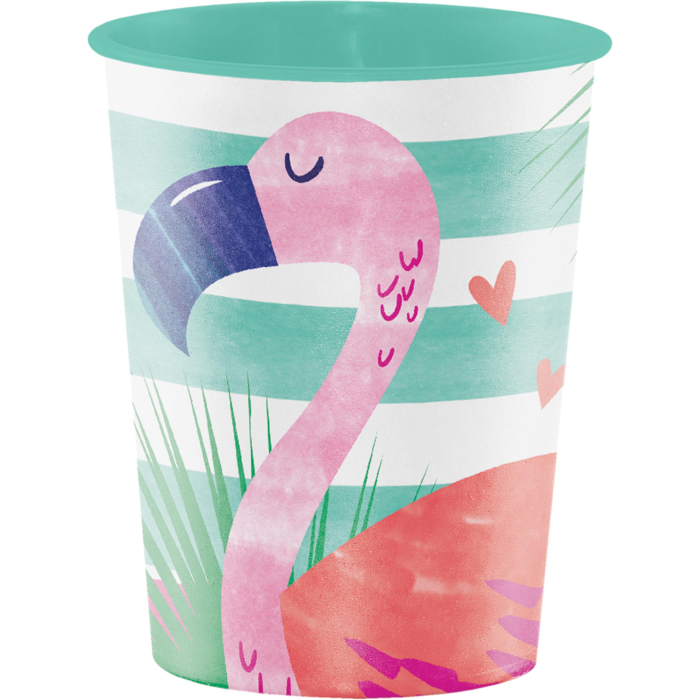 Pineapple N Friends 16 Oz. Plastic Keepsake Cup, Case of 12