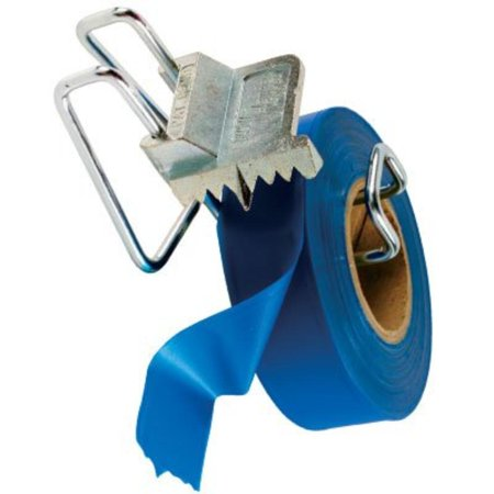 Handi-Flagger, Roll Flagging Tape Dispenser, Adjusts to size of the roll and it depletes By Keson
