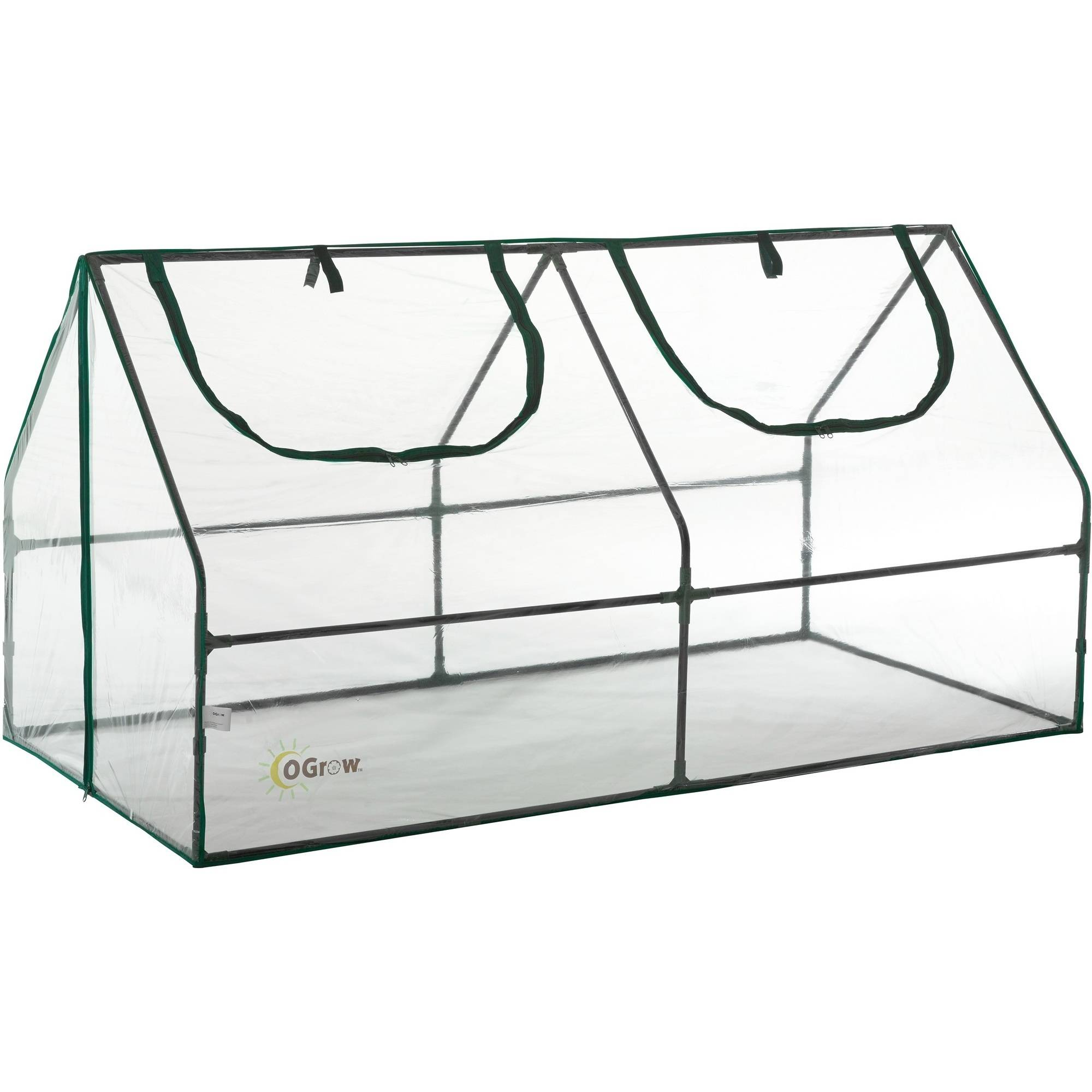 Ogrow Ultra Deluxe Compact Outdoor Seed Starter Greenhouse Cloche by KSH Brands