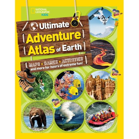 The Ultimate Adventure Atlas of Earth : Maps, Games, Activities, and More for Hours of Extreme Fun!](Fun Adventure Maps)
