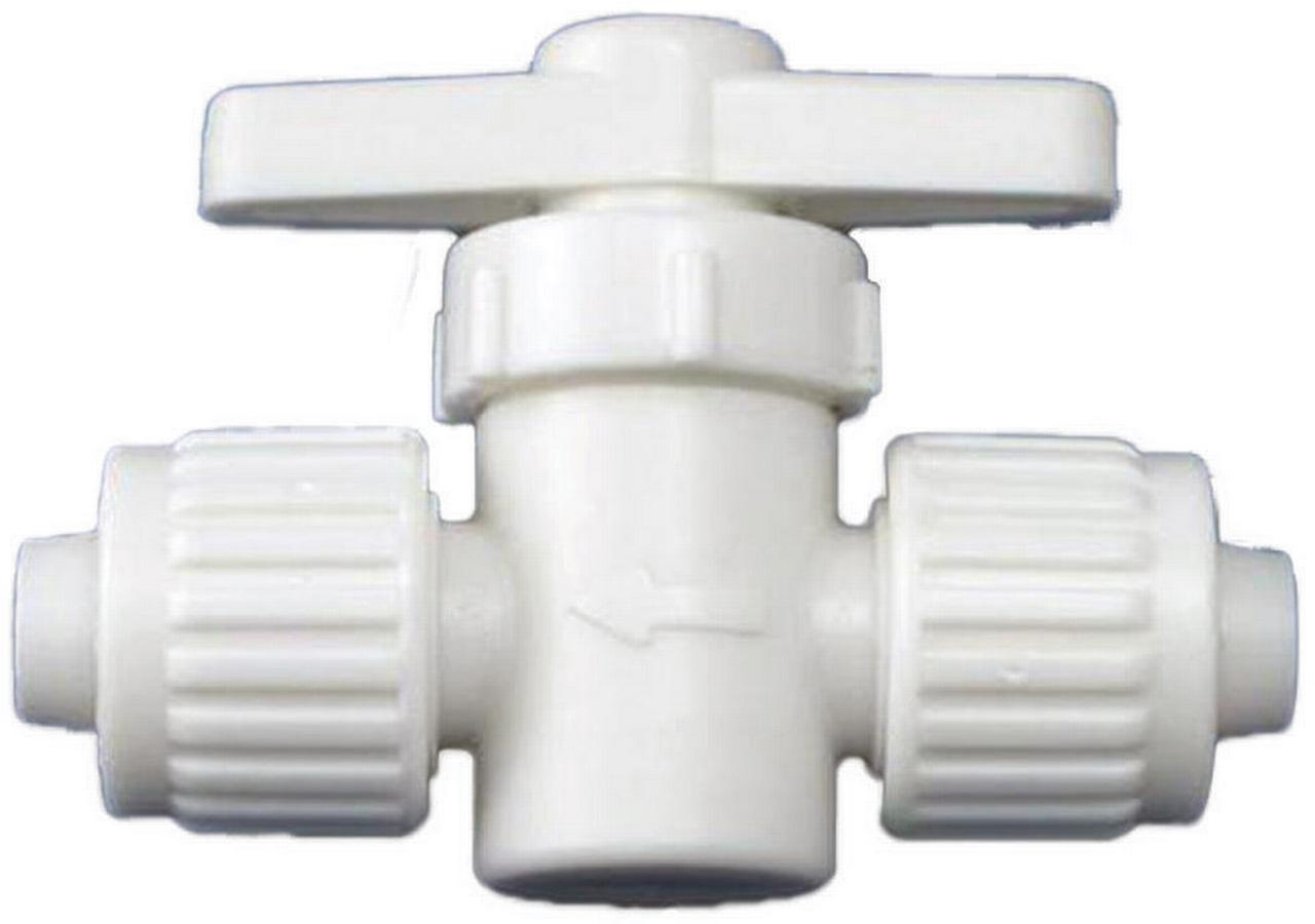 1//2 Flair-It 04912 RV Water Heater Bypass Kit White