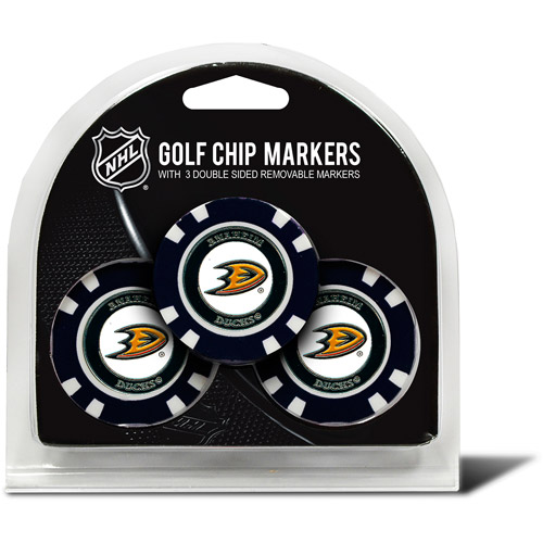 Team Golf NHL Anaheim Ducks 3 Pack Golf Chip Ball Markers