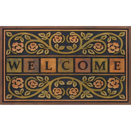 Rose Outdoor Entry Mat