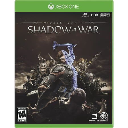 Middle-Earth: Shadow of War, Warner, Xbox One, PRE-OWNED,