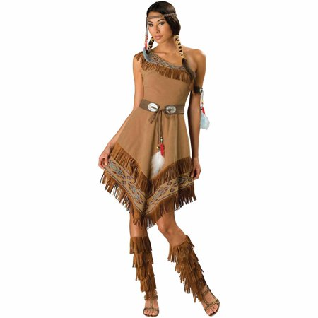 Native American Maiden Adult Costume Women's Halloween Costume