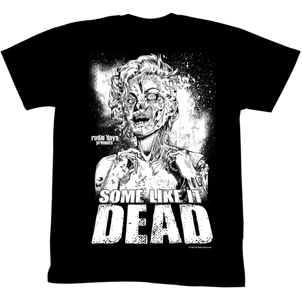 Marilyn Monroe Men's  Hollywood Undead T-shirt Black