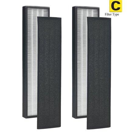 2 Filters true hepa filter c for germguardian flt5000 flt5111 ac5000