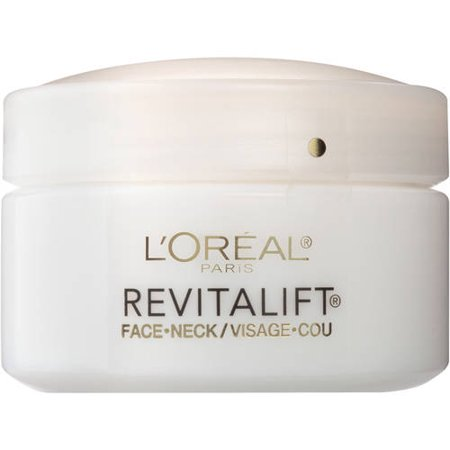 - L'Oreal Paris Revitalift Anti-Wrinkle + Firming Face & Neck Cream