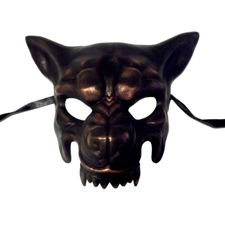 Wolf Masquerade Mask (Copper Wolf Masquerade Party Halloween Mask by)