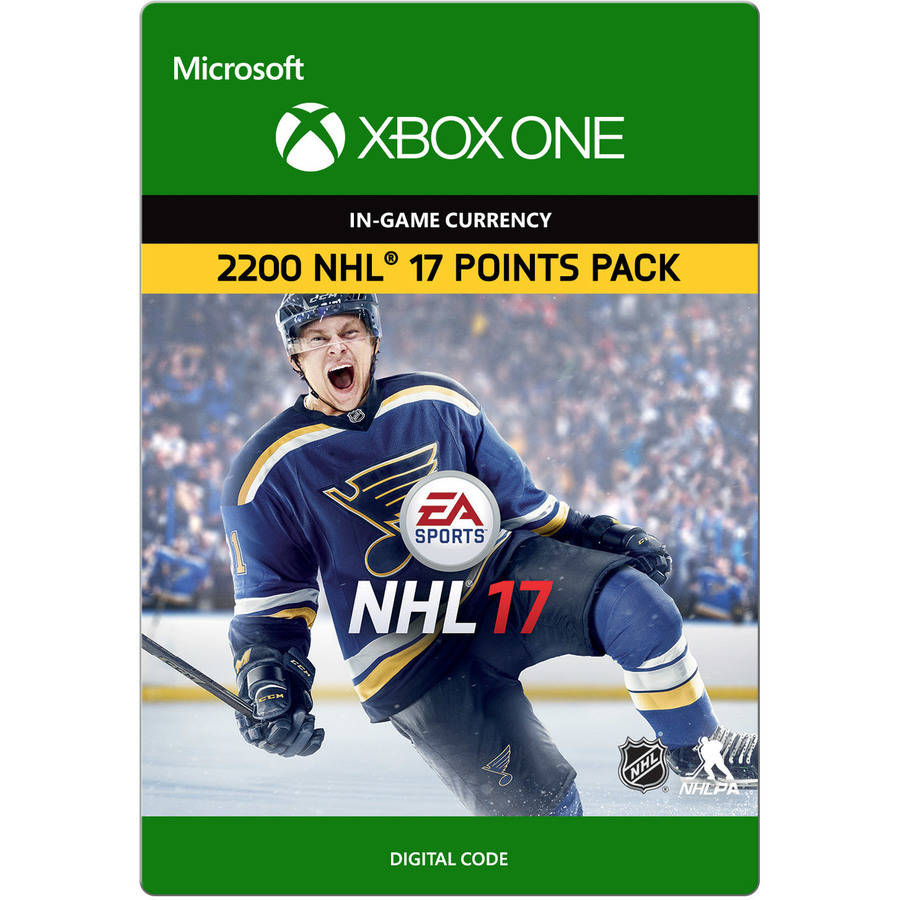 Xbox One NHL 17 Ultimate Team NHL Points, 2200