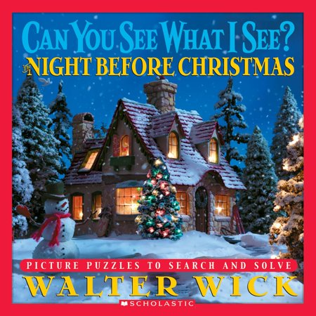 Can You See What I See?: Can You See What I See?: The Night Before Christmas: Picture Puzzles to Search and Solve (Hardcover) ()