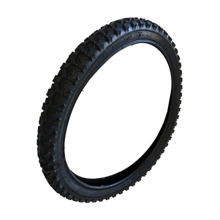 Heavy Duty Bicycle tire Flat Bike Tire Replacement Tire Part Repair Black Color (20 Inch)