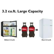 Refrigerator Freezer Cooler Fridge Compact 3.2 cu ft.Unit - image 7 of 10