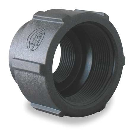 """160-307NL 1-1//4/"""" Compression Low Lead Brass Coupling"""