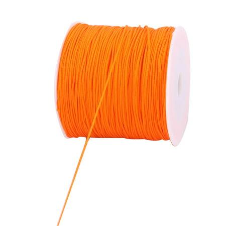 Nylon Chinese Knot DIY Handcraft Braided Cord String Orange 0.8mm Dia 110 Yards - image 2 of 3