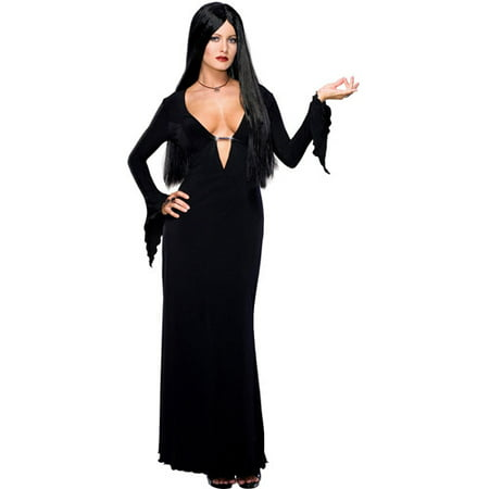 Morticia Adult Halloween Costume - Morticia E Gomez Halloween