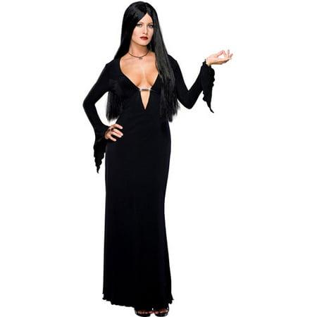 Morticia Adult Halloween Costume](Morticia Halloween Costumes)