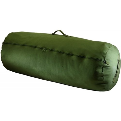 Texsport Zipper Canvas Duffle Duffel Roll Travel Sports Equipment Bag by Texsport