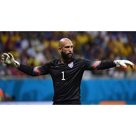 Eight Inch Round Us Soccer Tim Howard Edible Image