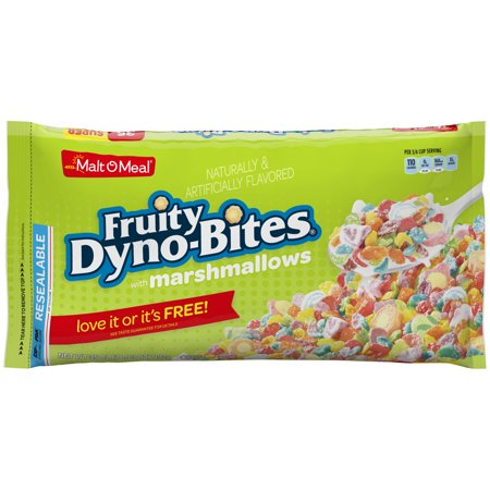 Malt-O-Meal, Fruity Dyno-Bites Cereal, Marshmallows, 35 Oz, Bag (Health Valley Strawberry Cereal)