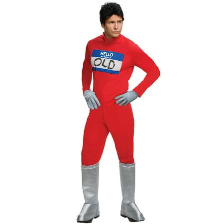 Derek Zoolander Jumpsuit Adult Costume - Zoolander Halloween Costume