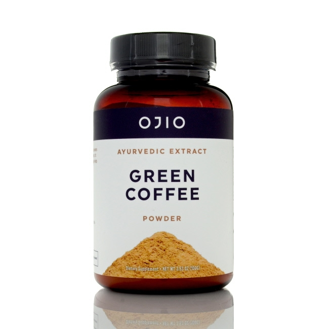 Ojio Green Coffee Bean Extract Powder, 3.53oz