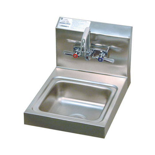 Advance Tabco Super Saver 12'' x 16'' Single Hand Sink with Faucet