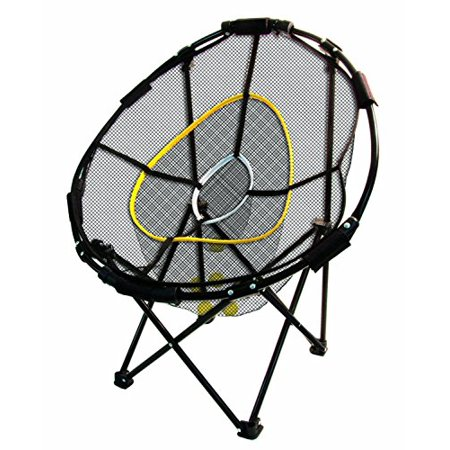 Sport Training Net Golf Chipping 3 Baskets Collapsible Practice Cage Hitting
