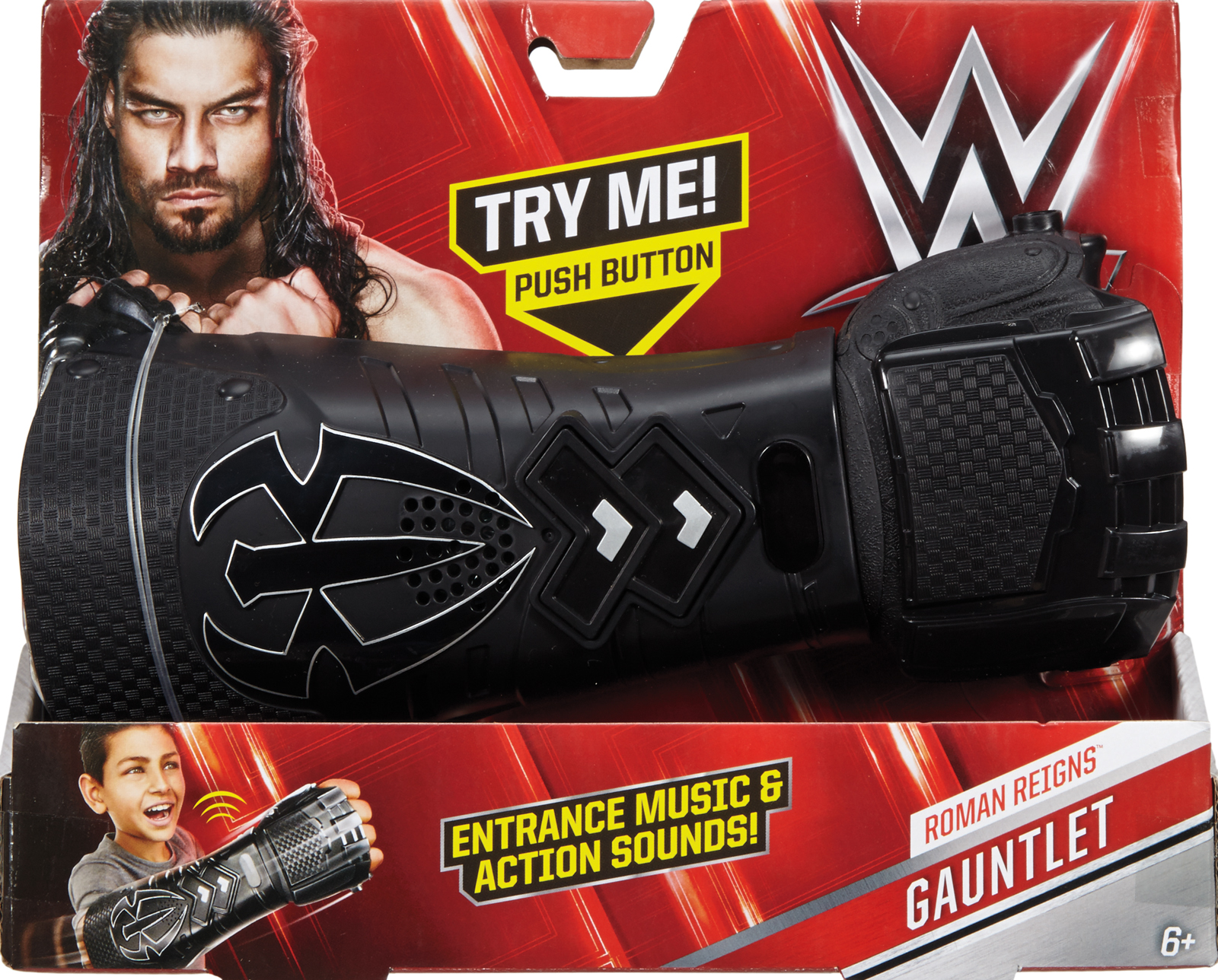 Roman Reigns WWE Wrist Gauntlet Wrestling Toy by Mattel