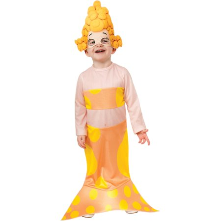 Deema Bubble Guppies (Childs Nickelodeon Cartoon Bubble Guppies Deema Costume Small)