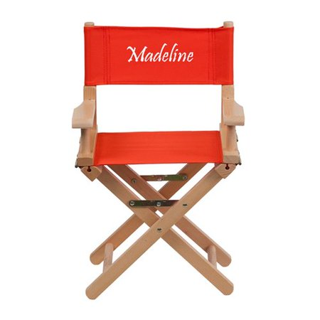 Kids Embroidered Chair (Harriet Bee Commer Embroidered Size Kids Directors)