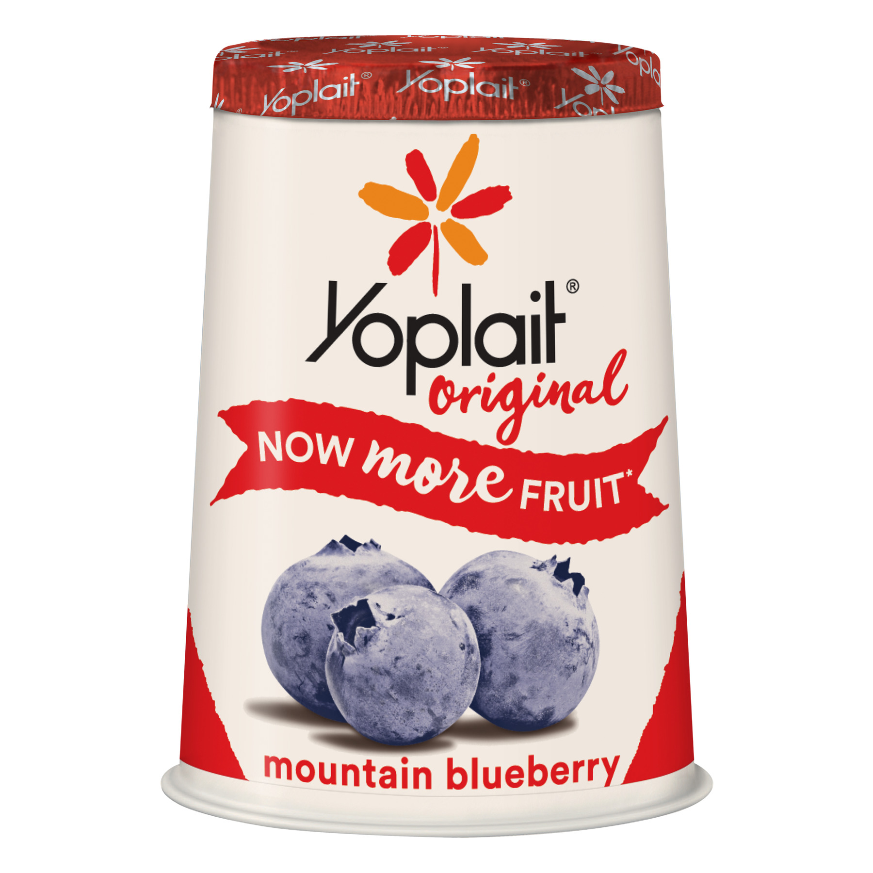 Yoplait Original Yogurt Mountain Blueberry, 6 oz Cup