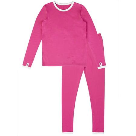- Girl's Polycore Warm Layering Long Underwear (Little Girls & Big Girls)