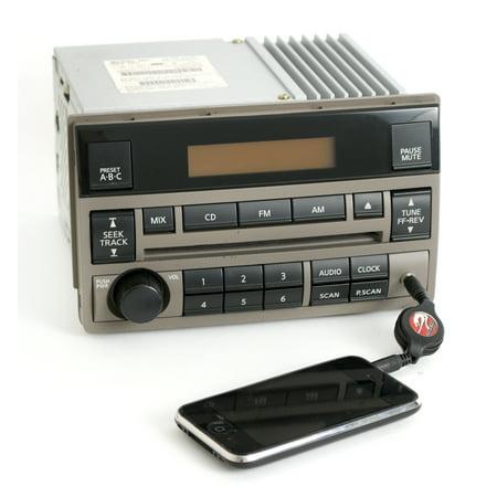 (Nissan Altima 05-06 AMFM CD Player Tan Radio w Aux Input Spd Vol Ctrl 28185ZB10C - Refurbished)