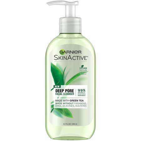 Garnier SkinActive Face Wash with Green Tea, Oily Skin, 6.7 fl.