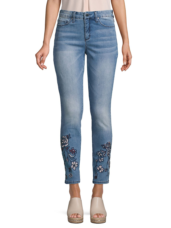 Dillards High Rise Skinny Jeans