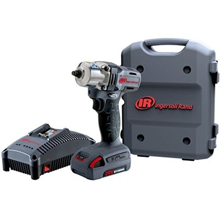 Ingersoll Rand Mid Torque Impactool Kit With Charger  Li Ion Battery And Case  3 8  W5130 K12