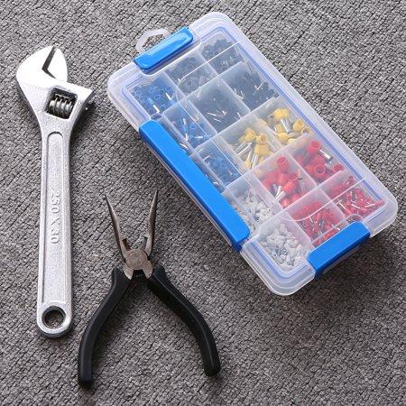 Boîte de rangement en plastique transparent Boîte multi-compartiments Slot Hardware Boîte à outils Organisateur de bijoux Boîte aux outils pour composants électroniques Boîte de pêche Accessoires de p - image 4 of 7