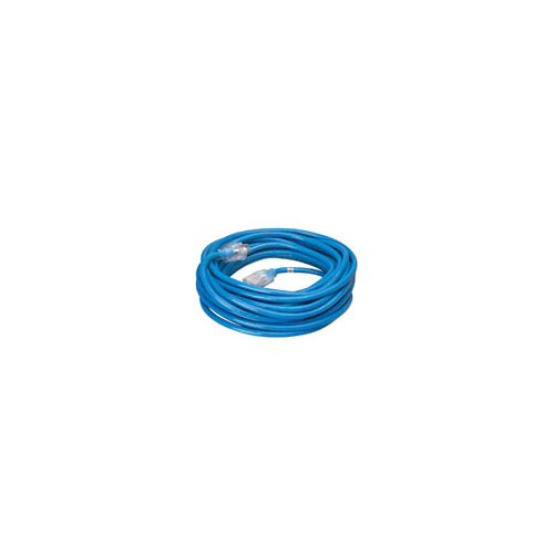 Coleman Cable 02369-06 Hi-Visibility / Low Temp 100' 16/3 Outdoor Extension Cord