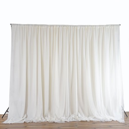 Efavormart 20ft x 10ft Chic-Inspired Party Wedding Backdrop Photography Background Fabric Photo Booth Backdrop Studio - Backdrop Photo Booth