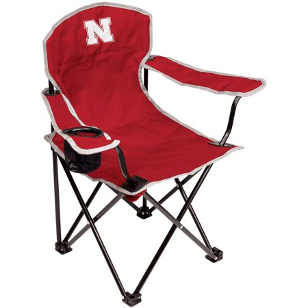 NCAA Nebraska Cornhuskers Youth Size Tailgate Chair from Coleman by Rawlings (Nebraska Lounger)